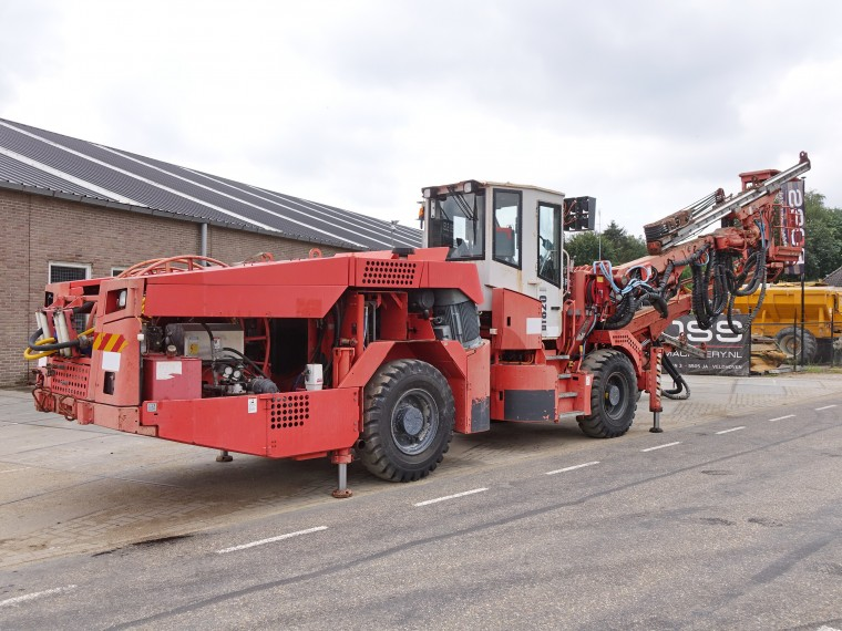 BossMachinery - SANDVIK DT820-SC TUNNELING DRILL (INCLUDING