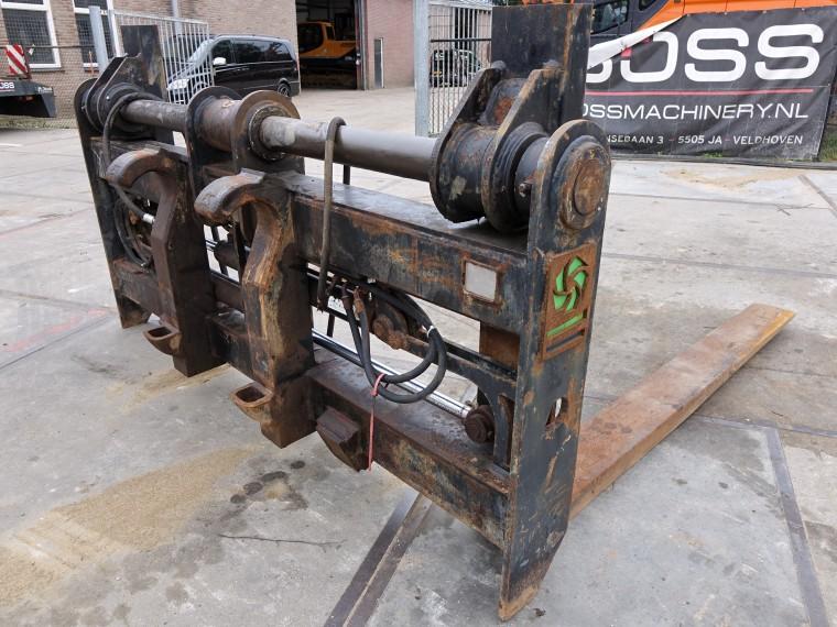Eindhovensebaan 3 5505 Ja Veldhoven.Bossmachinery Hydraulic Forks